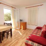 Apartament cu aer conditionat cu balcon cu 1 camera pentru 4 pers. A-4956-a