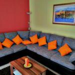 Apartament 6-osobowy z klimatyzacją z widokiem na morze z 2 pomieszczeniami sypialnianymi A-12676-a