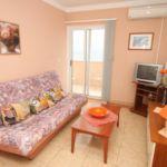 Apartman s klimatizací pro 3 os. s 1 ložnicí s výhledem na moře A-8734-e