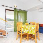Apartman s klimatizací pro 4 os. se 2 ložnicemi s výhledem na moře A-9037-g