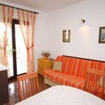 Apartman s klimatizací pro 5 os. se 2 ložnicemi s výhledem na moře A-6535-c