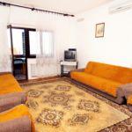 Apartament 7-osobowy z klimatyzacją z widokiem na morze z 2 pomieszczeniami sypialnianymi A-676-a
