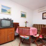 Apartament 2-osobowy z klimatyzacją z widokiem na morze z 1 pomieszczeniem sypialnianym A-5078-a