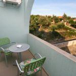 Apartament 2-osobowy z klimatyzacją z widokiem na morze z 1 pomieszczeniem sypialnianym AS-6584-a