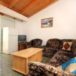 Apartament 5-osobowy z klimatyzacją z widokiem na morze z 2 pomieszczeniami sypialnianymi A-10166-a