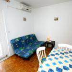 1-Zimmer-Apartment für 3 Personen mit Klimaanlage und Aussicht auf das Meer A-5553-c