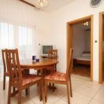 Apartament cu aer conditionat cu vedere spre mare cu 2 camere pentru 4 pers. A-8664-e