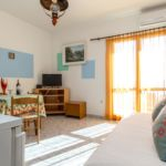Apartament cu aer conditionat cu vedere spre mare cu 1 camera pentru 4 pers. A-5964-a