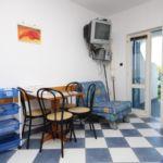 Apartament cu aer conditionat cu terasa cu 1 camera pentru 3 pers. AS-6852-e