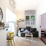 Apartman s klimatizací s terasou s manželskou postelí s 1 ložnicí A-11671-a