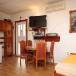 Apartman s klimatizací pro 3 os. s 1 ložnicí s výhledem na moře AS-8224-c