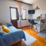 Apartament 3-osobowy z klimatyzacją z widokiem na morze z 1 pomieszczeniem sypialnianym A-776-a