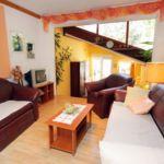 Apartament 3-osobowy z klimatyzacją z widokiem na morze z 1 pomieszczeniem sypialnianym AS-2387-a