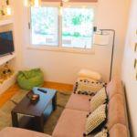 Apartament cu aer conditionat cu vedere spre mare cu 2 camere pentru 9 pers. A-4663-a