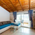Apartament cu aer conditionat cu vedere spre mare cu 2 camere pentru 4 pers. A-9234-a