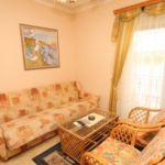 Apartament cu aer conditionat cu vedere spre mare cu 1 camera pentru 3 pers. A-3460-a