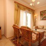Apartament cu aer conditionat cu vedere spre mare cu 2 camere pentru 4 pers. A-3460-c