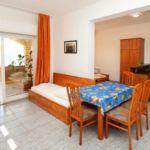 Apartament cu aer conditionat cu vedere spre mare cu 1 camera pentru 4 pers. AS-1139-b