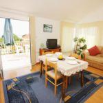 Apartament cu aer conditionat cu vedere spre mare cu 1 camera pentru 4 pers. A-4501-a