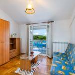 Apartament cu aer conditionat cu vedere spre mare cu 2 camere pentru 5 pers. A-3030-c