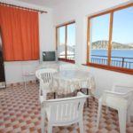 Pogled na more Klimatizirano apartman za 8 osoba(e) sa 3 spavaće(om) sobe(om) A-7606-a
