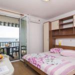 Apartman s klimatizací s manželskou postelí s 1 ložnicí s výhledem na moře AS-11687-c