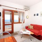 Apartman s klimatizací s manželskou postelí s 1 ložnicí s výhledem na moře A-9229-a