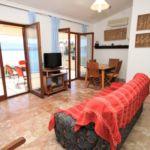 Apartament cu aer conditionat cu vedere spre mare cu 3 camere pentru 6 pers. A-8537-a