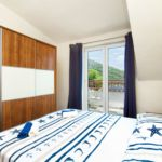 Apartament cu aer conditionat cu vedere spre mare cu 1 camera pentru 4 pers.