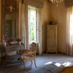 Parkra néző emeleti franciaágyas szoba (pótágyazható)