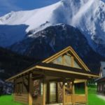 Romantic Family Chalet for 4 Persons (extra bed available)