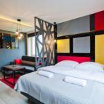 Apartament 4-osobowy Art Przyjazny podróżom rodzinnym z 1 pomieszczeniem sypialnianym