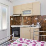 Apartament cu aer conditionat cu vedere spre mare cu 1 camera pentru 2 pers. AS-14095-b