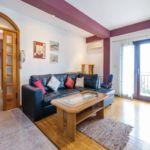 Apartament cu aer conditionat cu vedere spre mare cu 2 camere pentru 5 pers. A-13441-a