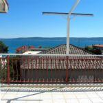 Apartament 6-osobowy z klimatyzacją z widokiem na morze z 2 pomieszczeniami sypialnianymi A-13578-a