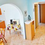 Apartament cu aer conditionat cu vedere spre mare cu 2 camere pentru 5 pers. A-12519-a