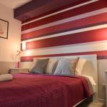 Apartament 3-osobowy na piętrze Wystrój wnętrz z 2 pomieszczeniami sypialnianymi