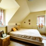 Emeleti Komfort franciaágyas szoba
