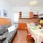 Apartament 3-osobowy z klimatyzacją z tarasem z 1 pomieszczeniem sypialnianym