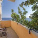Apartament cu balcon cu vedere spre mare cu 1 camera pentru 4 pers.