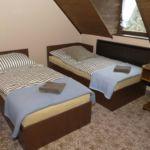 Tetőtéri légkondicionált négyágyas szoba