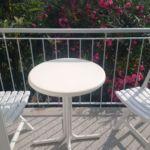 2-Zimmer-Apartment für 5 Personen mit Balkon und Aussicht auf das Meer