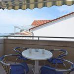 Apartament 4-osobowy z balkonem z widokiem na morze z 1 pomieszczeniem sypialnianym