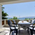 Apartman s terasou pro 4 os. s 1 ložnicí s výhledem na moře