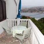 Apartament confort cu vedere spre mare cu 2 camere pentru 5 pers.