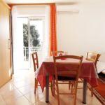 Apartament cu aer conditionat cu terasa cu 1 camera pentru 2 pers. AS-4480-c