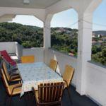 Apartament cu terasa cu vedere spre mare cu 3 camere pentru 7 pers. A-5032-a
