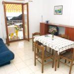 Apartman s klimatizací pro 3 os. s 1 ložnicí s výhledem na moře A-5687-c