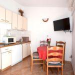 Apartament cu aer conditionat cu vedere spre mare cu 1 camera pentru 4 pers. A-2605-a