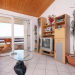 Apartament 7-osobowy z klimatyzacją z widokiem na morze z 2 pomieszczeniami sypialnianymi A-5975-e